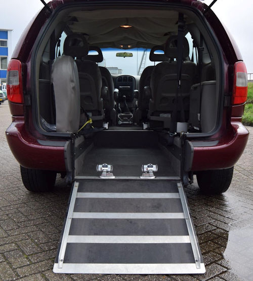Accessible van for rent
